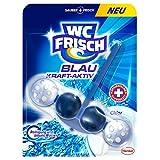 WC Frisch Kraft-Aktiv Blauspüler Chlor, 5er Pack (5 x 1...