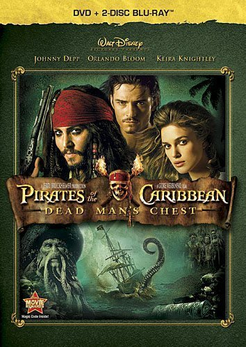 Pirates of Caribbean: Dead Man's Chest (Three-Disc Blu-ray / DVD Combo in DVD Packaging) by Walt Disney Studios Home Entertainment