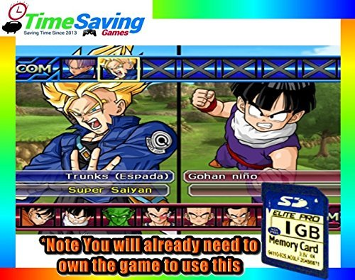 Dragon Ball Z: Budokai Tenkaichi 2, & 3 100% Unlocked Memory Card! (Dragon Ball Z Tenkaichi 3 Wii compare prices)
