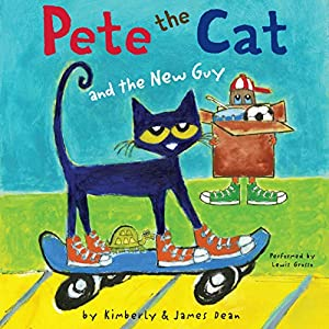 Pete the Cat and the New Guy Audiobook