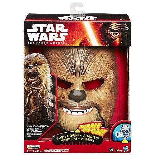 Máscara de Chewbacca (Hasbro B3226EU4)