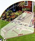 Schutzhülle Gartenliege 2 Stück -K&B Vertrieb- Sonnenliege Gartenmöbel Abdeckplane Abdeckung