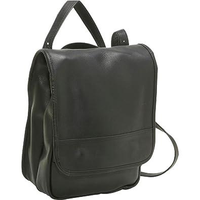 Le Donne Leather Convertible Backpack Shoulder Bag 12