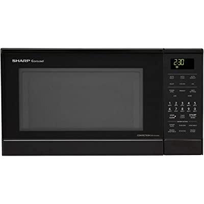 Sharp R830BK 900 Watts Convection Microwave Oven Via Amazon
