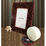 Indian Picture Frame Handmade Home Decor Vintage Style Antique 4 X 6 Photo Frame Table Top Single Picture Frame