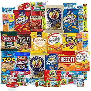 Snack On Cookies Chips & Candies Care Package Variety Pack (40 Count)