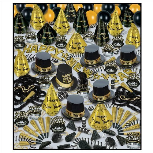 golden-bonanza-new-years-eve-party-assortment-for-100-by-beistle