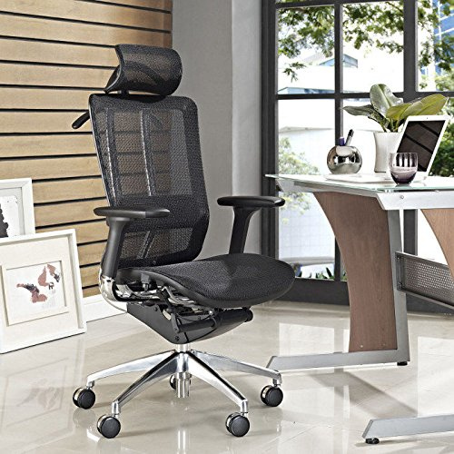 Modway Future Office Chair with Headrest -