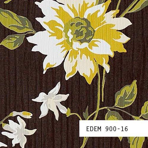Tapeten MUSTER EDEM 900-Serie | Vliestapete Floral Designer Blumen Textiloptik, 900-XX:S-900-16