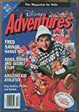 img - for Disney Adventures The Magazine for Kids December 1990 book / textbook / text book