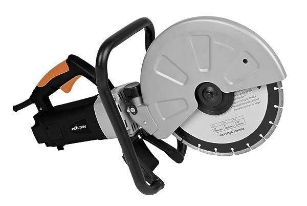 Evolution DISCCUT1 12-Inch Disc Cutter, Orange (Color: Orange, Tamaño: 12-Inch)