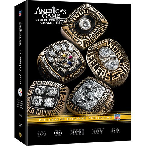 Warner Brothers America's Game: Pittsburgh Steelers DVD