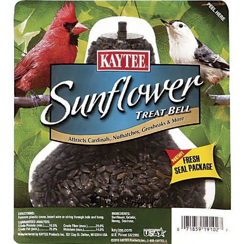 Kaytee Sunflower Treat Bell, 10-Ounce (Sunflower Seed Bell compare prices)