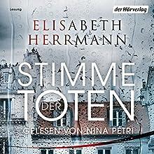 Stimme der Toten Hörbuch von Elisabeth Herrmann Gesprochen von: Nina Petri