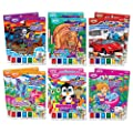 Savvi Assorted Magic Paint Poster Books (12-Pack)