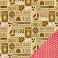American Crafts Be Merry Sweets & Treats Christmas Scrapbook Paper