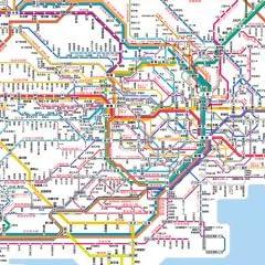 1000ピース 首都圏路線ネットワーク 61-312