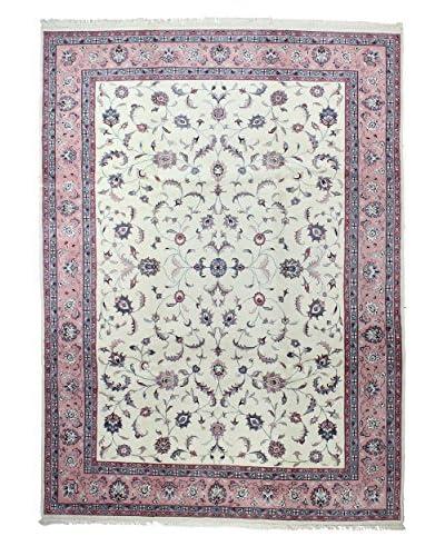 Bashian Rugs Khand Knotted One-of-a-Kind Tibetan Rug, Ivory, 8' 9 x 12' 2