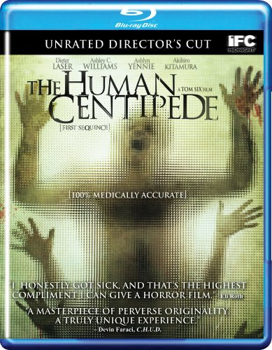 The Human Centipede (Unrated Director&#8217;s Cut) [Blu-ray]