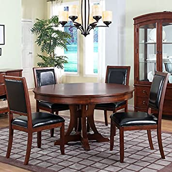 Avalon Dining Room Set with 54 inch Round Table
