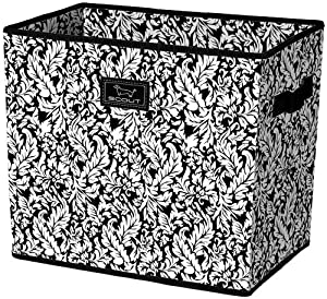 SCOUT Shouldah Bin Storage Container, French Twist Black