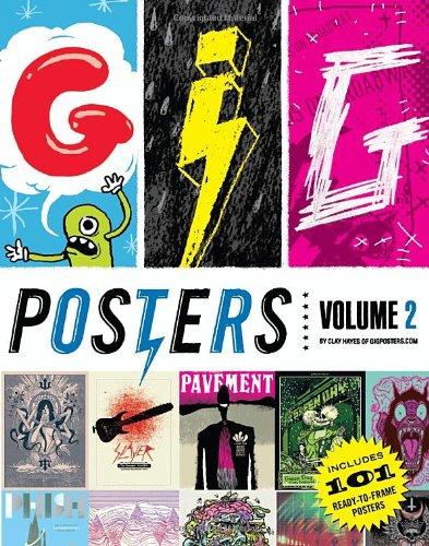 Gig Posters 2 /Anglais