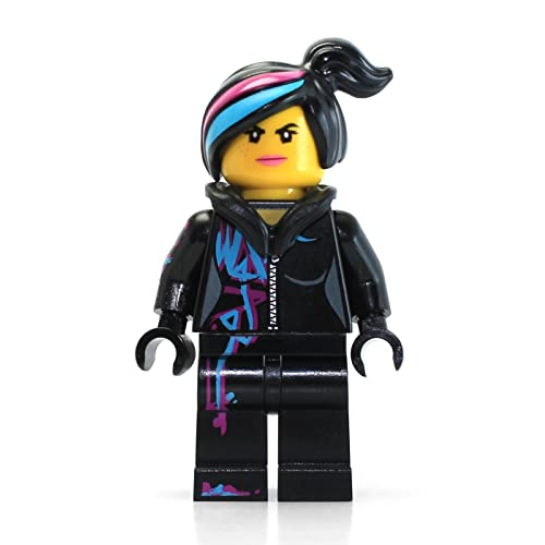 LEGO The Movie Minifigure: Wyldstyle with Hoodie Down