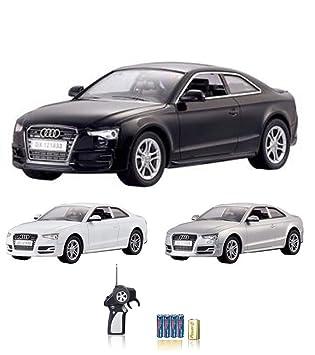 Audi S5–RC ferngesteuertes sous licence véhicule dans le modèle design original, échelle: 1: 18, voiture avec télécommande et piles, produit neuf