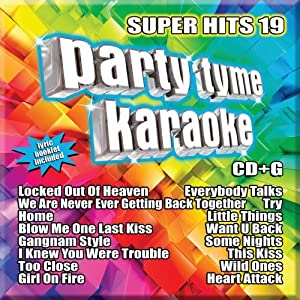 Party Tyme Karaoke: Super Hits 19 by Sybersound Records