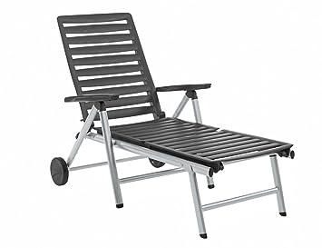 0000 D'aluminium Chaise Wave Longue Kettler 0302015 Châssis E9H2ID