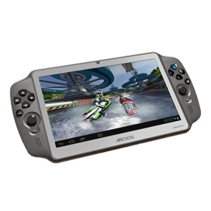 "Archos Gamepad Tablette tactile 7 "" (17,78 cm) Processeur Arm Cortex A 9 1,5 GHz 8 Go Android WiFi Noir"