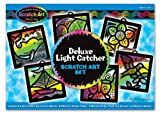 Melissa & Doug Deluxe Light Catcher Scratch Art Set