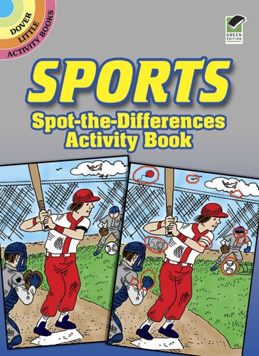 Sports Spot-The-Differences Activity Book (Dover Little Activity Books)