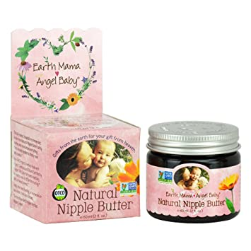 Amazon.com : Earth Mama Angel Baby Natural Nipple Butter (Pack 3) : Breast Nipple Therapy Products : Baby
