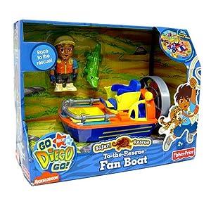 Fisher price jeux de construction go diego vehicules safari bateau jeux et - Jeux de go diego ...