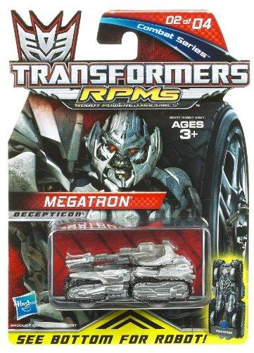 Transformers RPMS Combat series - 02 Megatron (silver) VERT - 1