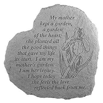 Mothers Garden...Memorial Garden Marker Stepping Stone
