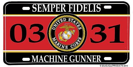 machine gunner mos marines
