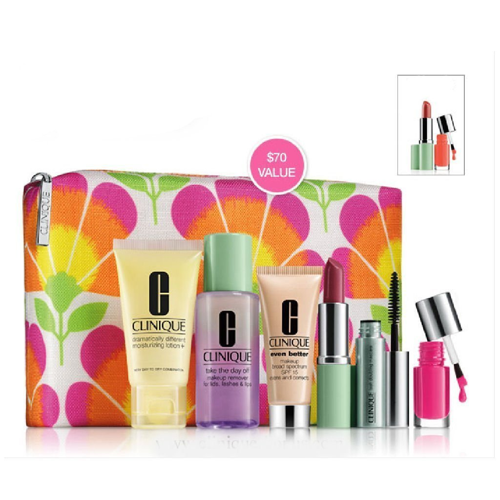 Clinique-Spring-2014-Gift-Set-with-7-Daily-Essentials-with-Cosmetic-Bag-Dillard-s-Exclusive