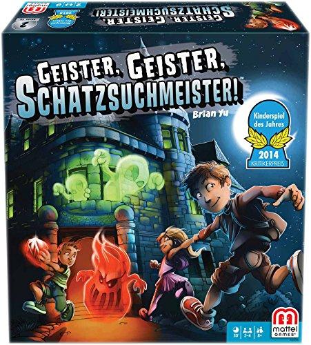 Nach oben Mattel Y2554 - Geister Geister Schatzsuchmeister, Strategiespiel - Kinderspiel des Jahres 2014