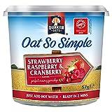 Quaker Express Pot Strawberry Raspberry Cranberry 57g