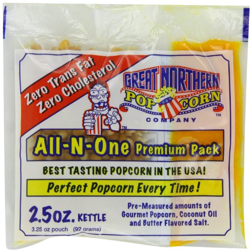 Great Northern Popcorn, 2.5-Ounce Portion Packs (Pack of 24) (Kernel Popcorn Oil compare prices)