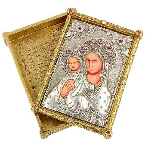 Iconica Mary Rosary Box