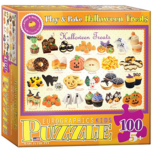 Halloween Treats Puzzle, 100-Piece