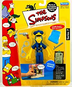 The Simpsons Series 7 Action Figure Officer Marge