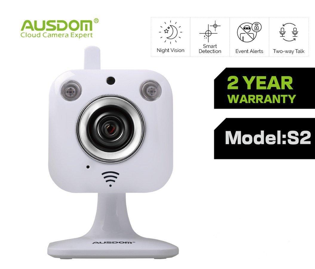 AUSDOM S2 Neuer Modell Home Sicherheit Mini  Überprüfung und Beschreibung