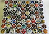 72 K Cup Sampler Pack Box - 72 Different Fresh Keurig K-Cups - Bestsellers & Top Rated K Cups - 62 Reg Coffee, 3 Decaf, 7 Others - For Entertaining / Home / College / Work / Gift