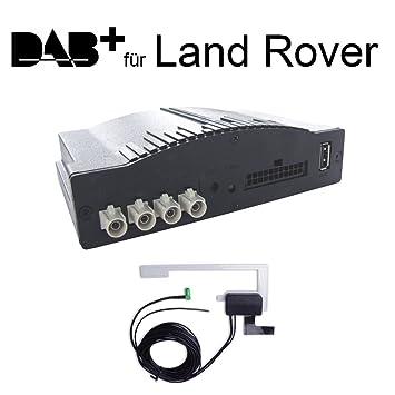 DAB+ Radio Numérique Interface pour Land Rover Freelander 2 LF, Range Rover Sport avec raccordement Plug and Play à la radio d'origine - Affichage RDS et commande sur volant - iCarDAB - simple DAB+ Extension