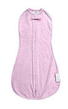 Amazon.com: Woombie Original Baby Swaddle, Pink Posey Heathered, Newborn 5-13 Lbs: Baby