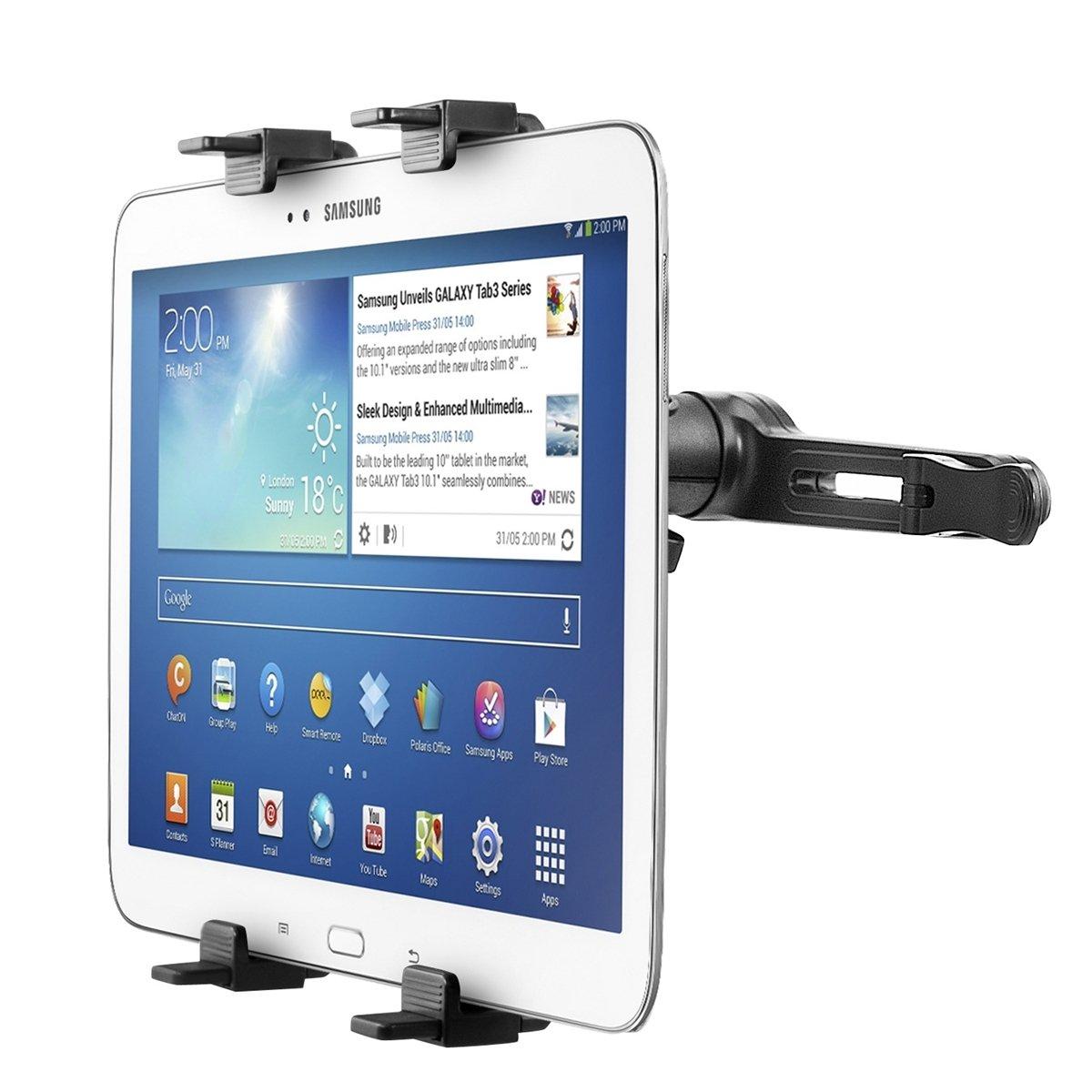 kwmobile® Soporte para el reposacabezas para Samsung Galaxy Tab 3 10.1 P5200 / P5210 / P5220.  Electrónica más noticias y comentarios